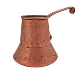 Vintage copper jezve Stock Image