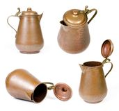 Vintage copper jug Royalty Free Stock Photography