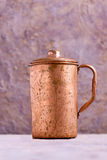 Vintage Copper Mug in india Royalty Free Stock Photos