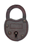 Vintage copper padlock Royalty Free Stock Photos