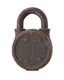 Vintage copper padlock Royalty Free Stock Images