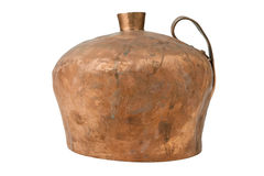 Vintage copper pitcher Stock Images
