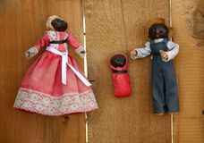 Vintage Cornhusk Dolls Royalty Free Stock Photo