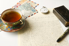 Vintage correspondence Royalty Free Stock Photo