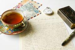 Vintage correspondence Stock Image