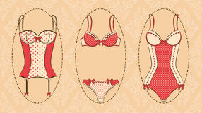 Vintage corset Royalty Free Stock Photo