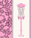 Vintage corset Stock Image