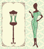 Vintage corset Stock Images