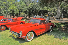 Vintage Corvette Images stock