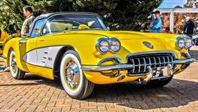 Vintage Corvette Stock Photos