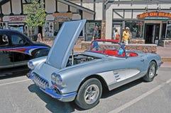 Vintage Corvette Royalty Free Stock Photos