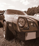 Vintage corvette sepia toned Stock Photo