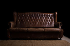 Vintage couch Royalty Free Stock Image