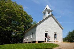 Vintage Country Church Stock Photos