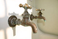 Vintage Country Faucet Stock Image