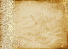 Vintage cover for album Royalty Free Stock Image