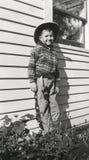 Vintage Cowboy Stock Image