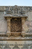 Vintage crafted at Adalaj Stepwell in Ahmedabad, India Royalty Free Stock Photos
