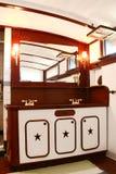 Vintage Craftsman Woodwork Bathroom Royalty Free Stock Images