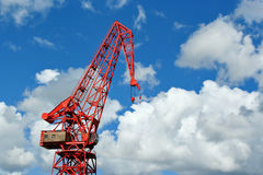 Vintage crane Royalty Free Stock Photography