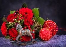 Vintage Cristmas decoration Stock Image