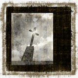 Vintage Cross Grunge Stock Images