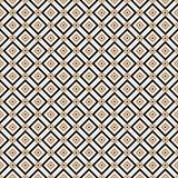 Vintage Cross lines gold vector pattern or background. Abstract diagonal gold modern triangle dot Cross lines vector pattern, background. Seamless repeatable Stock Photography