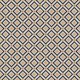 Vintage Cross lines gold vector pattern or background. Abstract diagonal gold modern triangle dot Cross lines vector pattern, background. Seamless repeatable Stock Image