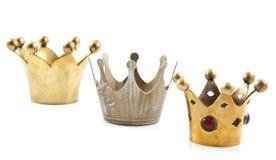 Vintage crowns Stock Image