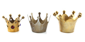Vintage crowns Royalty Free Stock Image