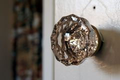 Vintage Crystal Door Knob Royalty Free Stock Image