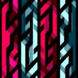 Vintage crystal geometric seamless pattern Stock Photo