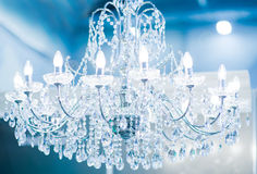 Vintage crystal lamp Royalty Free Stock Images