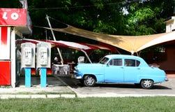 Vintage cuban car Royalty Free Stock Photos