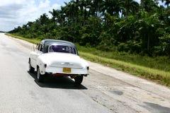 Vintage cuban car Stock Photos