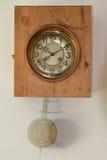 Vintage cuckoo clock stock photo