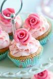 Vintage cupcakes Stock Photo