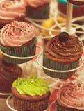 Vintage cupcakes Royalty Free Stock Photo