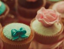 Vintage cupcakes Royalty Free Stock Photos