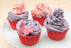 Vintage Cupcakes Stock Image