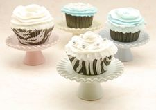 Vintage Cupcakes Royalty Free Stock Images