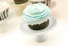 Vintage Cupcakes Stock Images
