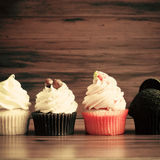 Vintage Cupcakes Royalty Free Stock Photo