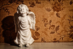 Vintage cupid sculpture Royalty Free Stock Photography