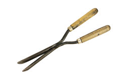 Vintage curling tongs Stock Images