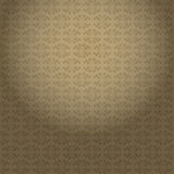 Vintage curly background, seamless pattern, vector texture Stock Photography