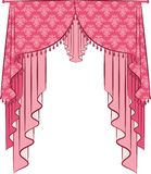 The vintage curtain Royalty Free Stock Photo