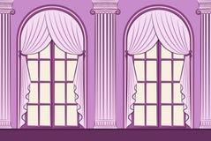 The vintage curtain. Royalty Free Stock Photos