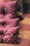 Vintage cushions Stock Photos