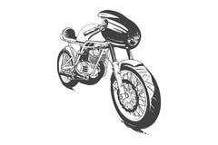 Vintage Custom Motorcicle Graphic Poster Illustration. vector illustration